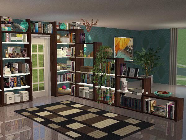 Wohnzimmer Modern : sims 3 wohnzimmer modern ...