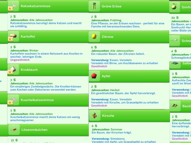 Außergewöhnlich Pflanzen und Gärtnern in Sims 4 [Archiv] - Sim Forum &IN_59